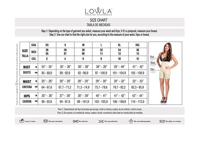 Quần gen lưng cao Lowla 348