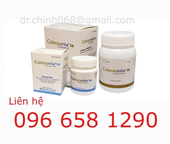 Thuốc Cabozanix/Cabozanib - Nhà thuốc Anh Chính