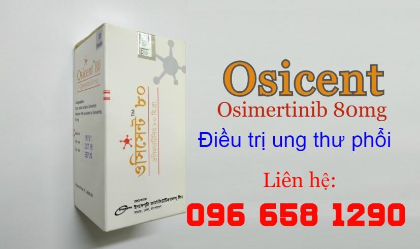 Thuốc Osicent điều trị ung thư phổi