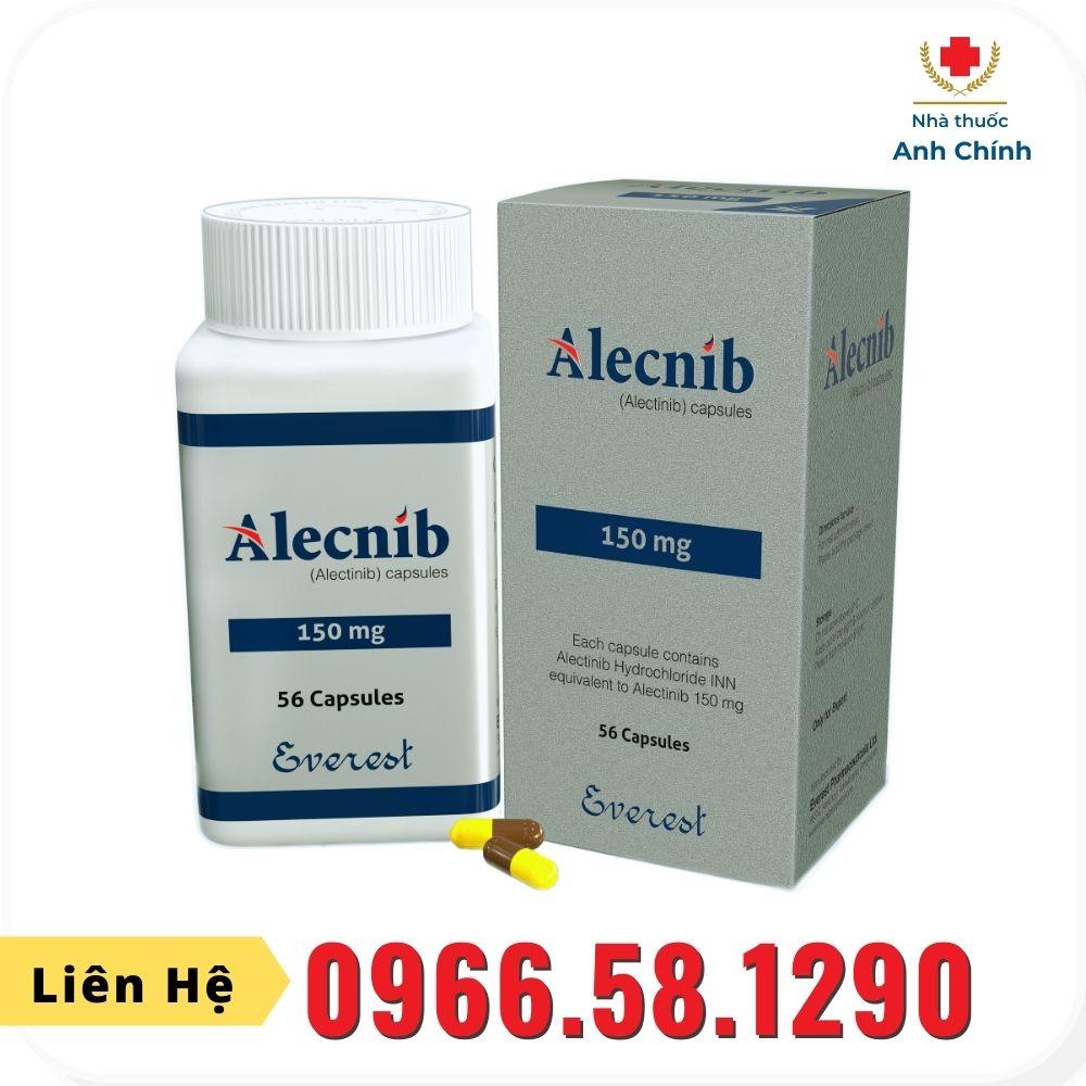 Thuốc Alecnib (Alectinib) 150mg