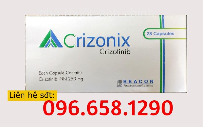 Thuốc Crizonix 250mg (Crizotinib) - Nhà thuốc Anh Chính
