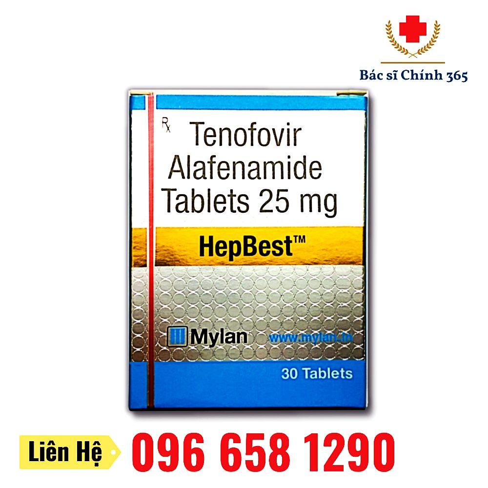 Thuốc HepBest 25mg - Nhà thuốc Anh Chính