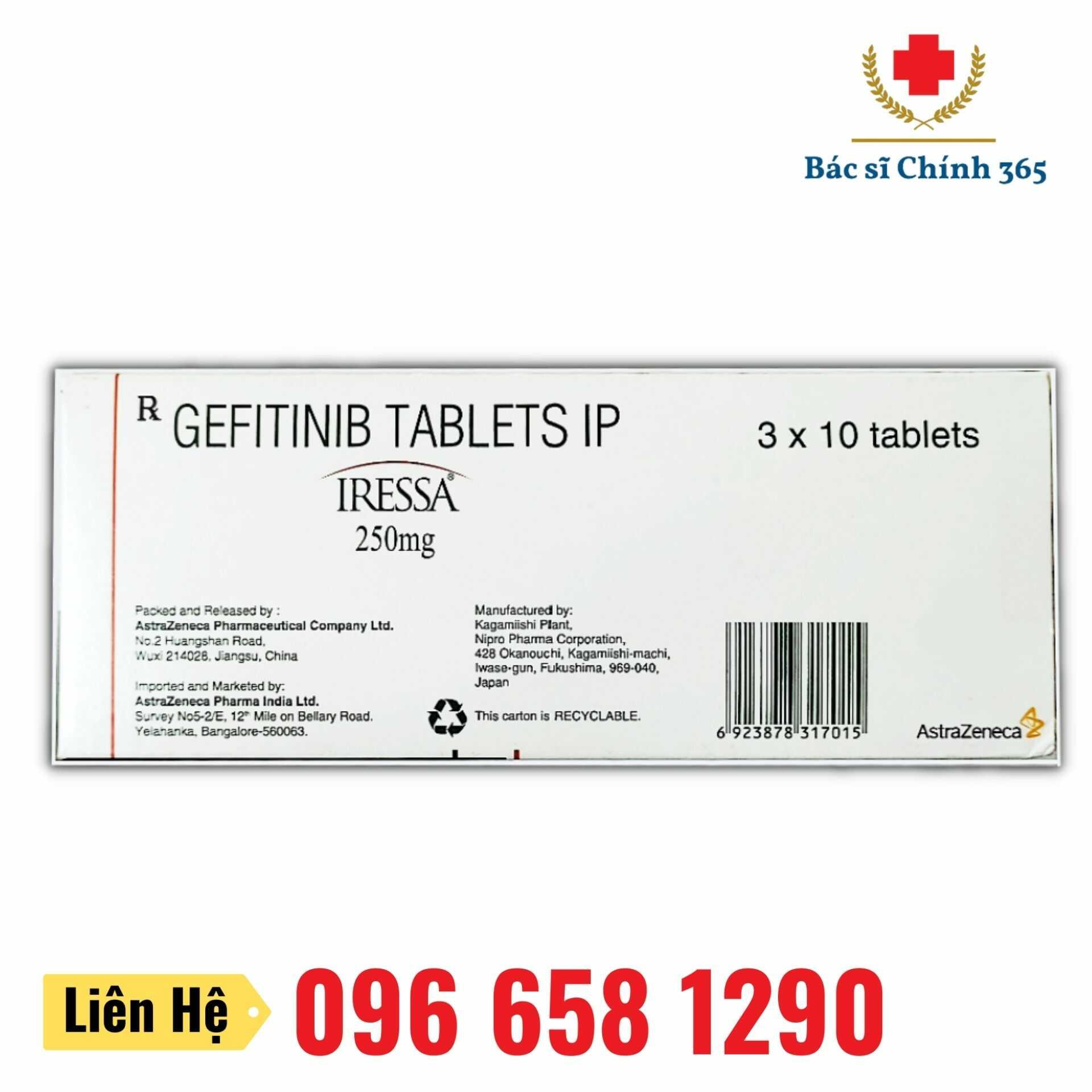 Thuốc IRESSA 250mg - Nhà thuốc Anh Chính