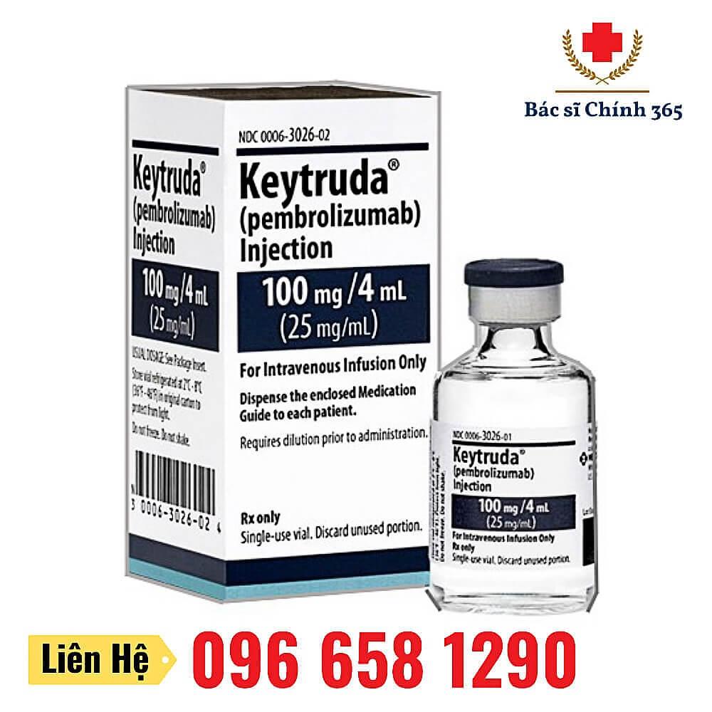 Thuốc Keytruda (Pembrolizumab) 25mg