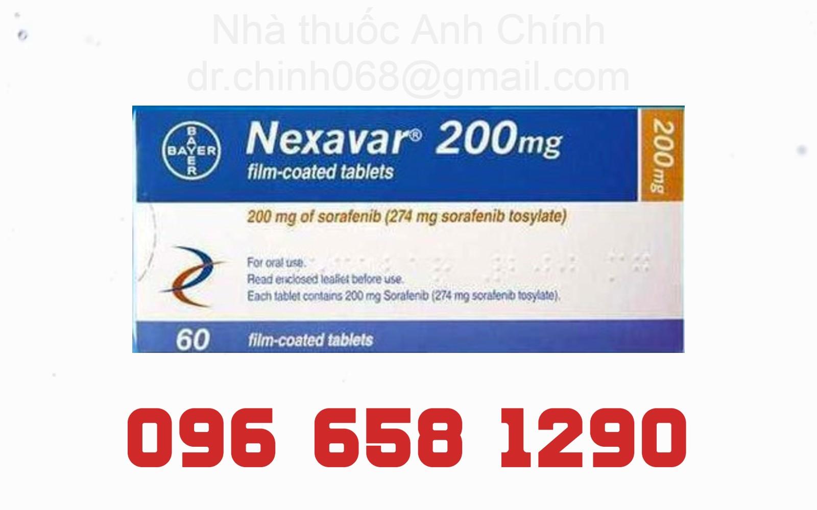 Thuốc Nexavar 200mg - Nhà thuốc Anh Chính