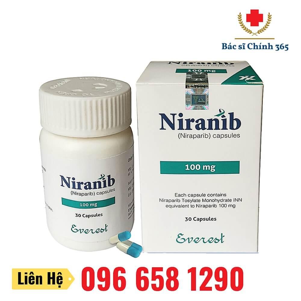 Thuốc Niranib (Niraparib) 100mg