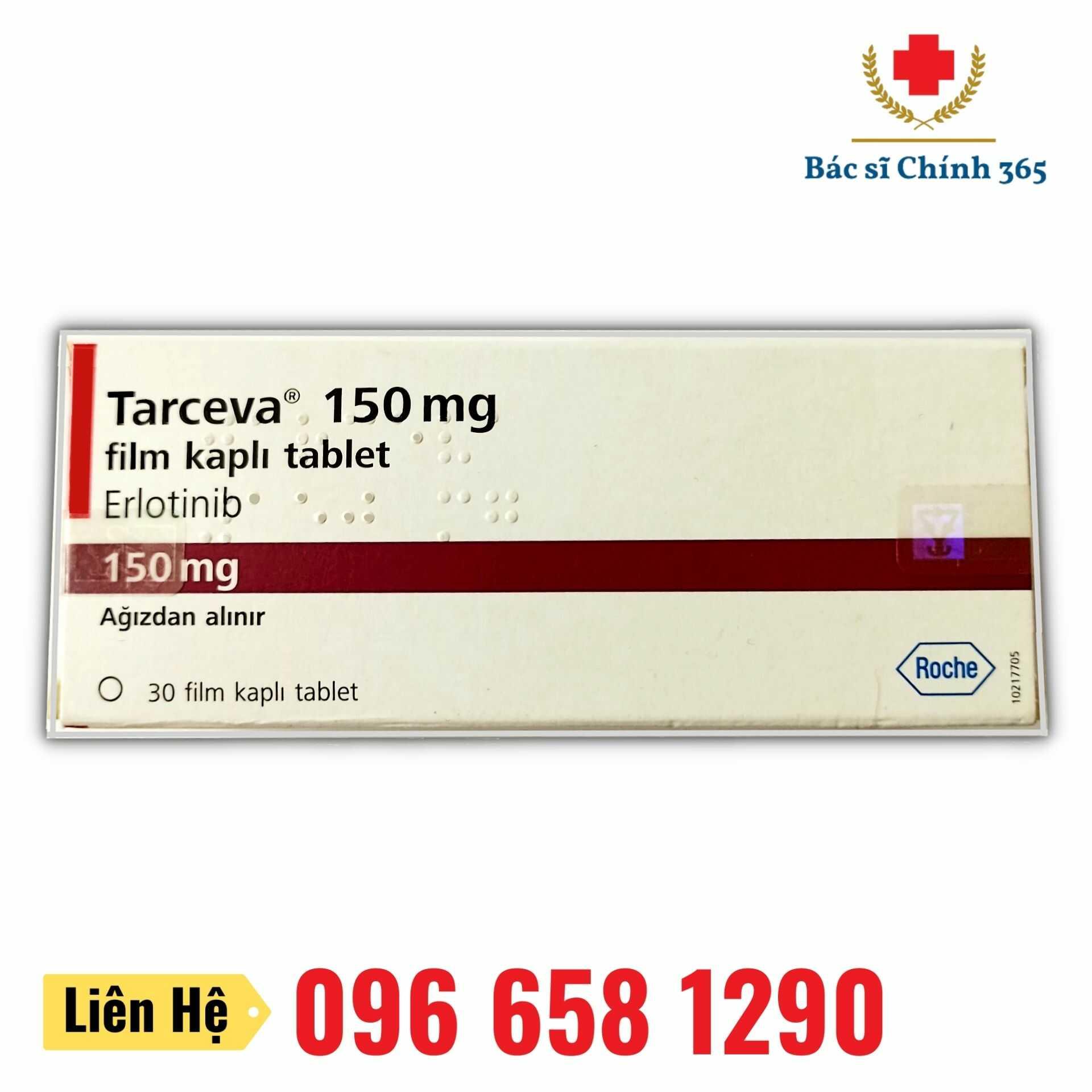 Thuốc Tarceva 150mg - Nhà thuốc Anh Chính