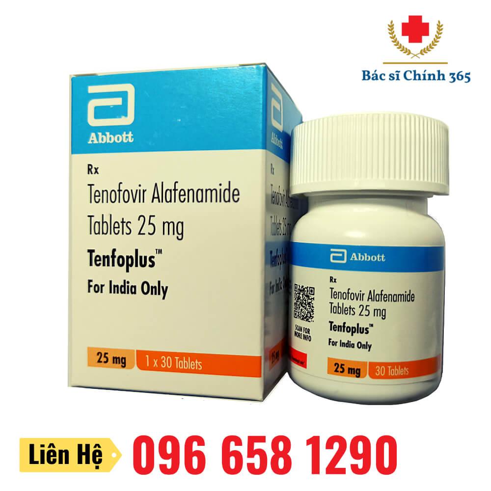 Thuốc Tenfoplus (Tenofovir Alafenamide) 25mg