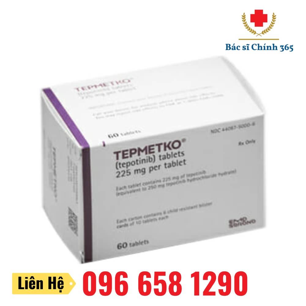Thuốc TEPMETKO (Tepotinib) 225mg - Nhà thuốc Anh Chính