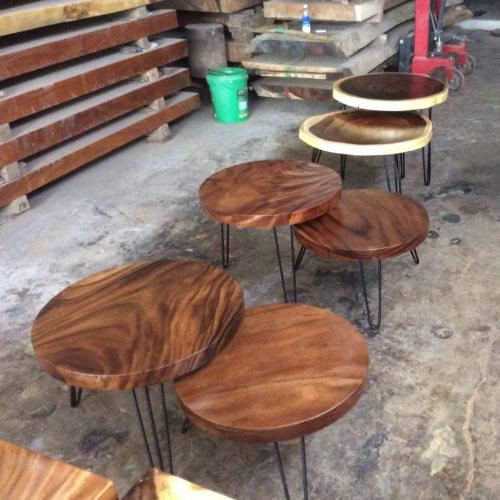 Còn ai khác muốn sở hữu bàn sofa đôi gỗ me tây siêu đẹp và giá rẻ.