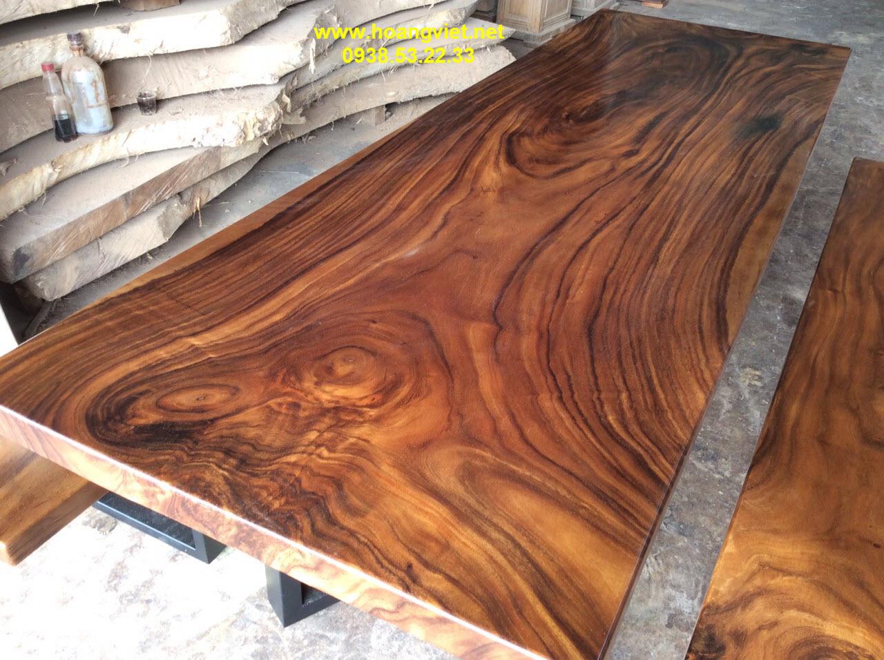Bộ k3 nguyên khối gỗ me tây cực đẹp.
