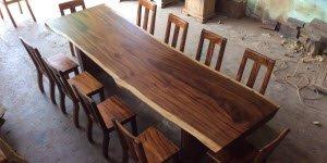 5 sự thật về mặt bàn gỗ me tây nguyên tấm có thể bạn chưa biết.