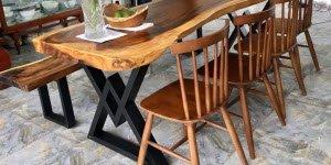 Điều gì khiến bàn gỗ me tây chân sắt trở nên hấp dẫn