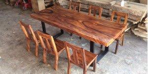 Cung cấp gỗ me tây làm mặt bàn