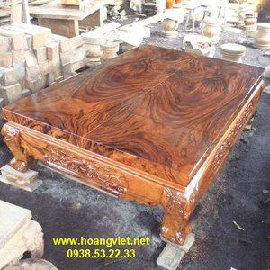 Sập gỗ me tây 160x10x245cm