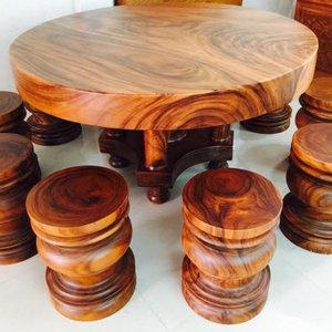 Bàn ăn gỗ tự nhiên cao cấp