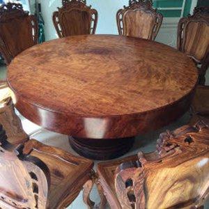 Bàn gỗ nguyên khối hcm