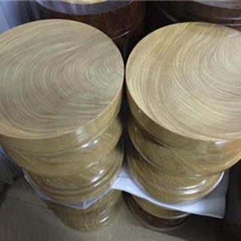 Đôn gỗ nguyên khối
