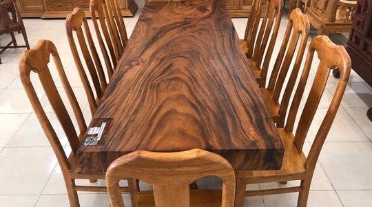 Bộ bàn gỗ me tây