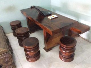 Bàn gỗ nguyên tấm giá rẻ