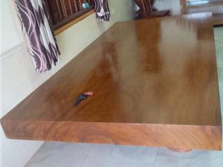 Sập gỗ phay