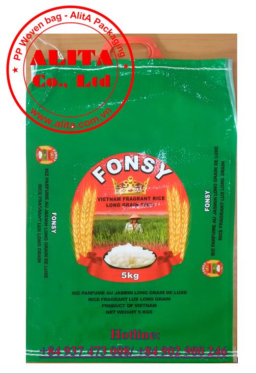 Bao gạo 5kg