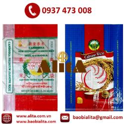 Bao gạo BOPP in ống đồng
